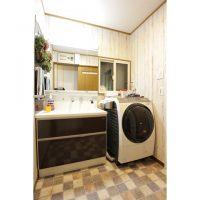 洗面脱衣室リフォーム