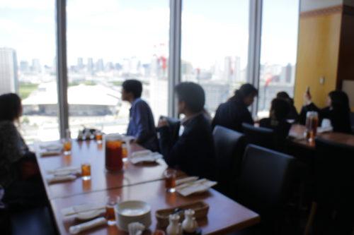 中華レストラン「マダムシェンロン」からの眺め