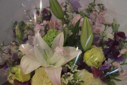 和をイメージしたお花は素敵な和室にピッタリ♪