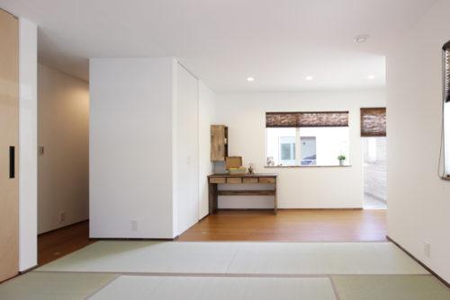 趣味が満喫できる畳のある居室