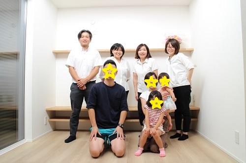 I様ご家族と記念写真♪