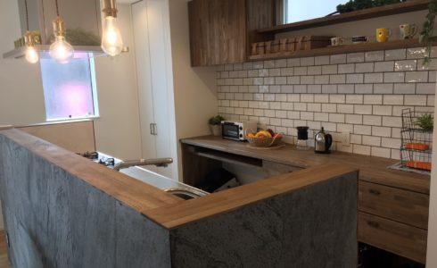造作棚&キッチン