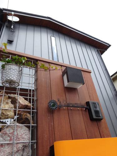 受賞物件「切妻屋根のシンプルモダンな家」