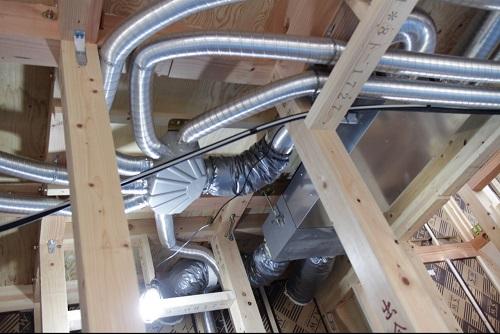 全熱交換型の換気システム