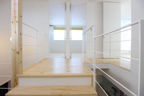 1つの部屋を2つに区切ることが可能な設計